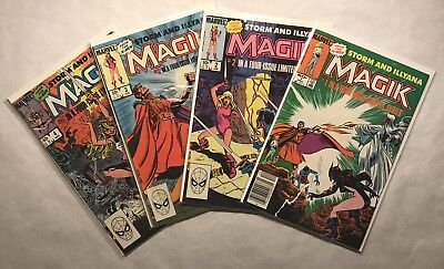 Magik Four Issue Limited Series Full Run, Storm And Illyana, New Mutants, X men