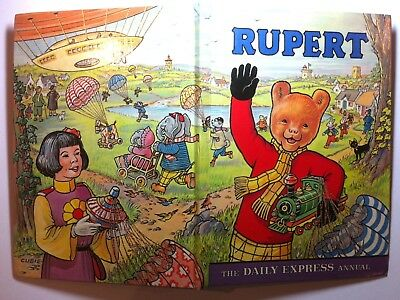 Rupert, Daily Express Annual, Original1976 Edition. Excellent Condition