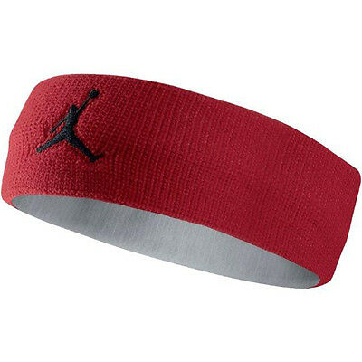New Adult Unisex Jordan Jumpman Headband 619337-695 Gym Red/White/Black
