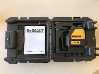 DeWalt laser level hardly used!