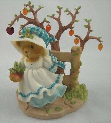 Cherished Teddies retired NIB. Edna Leaves of Change. tree autumn 867470 2001