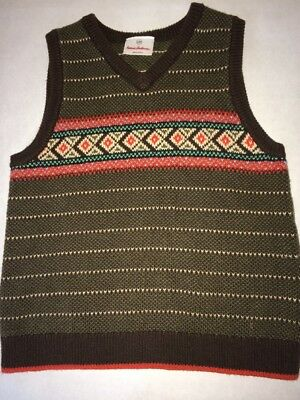 Hanna Andersson Boys Vest size 120