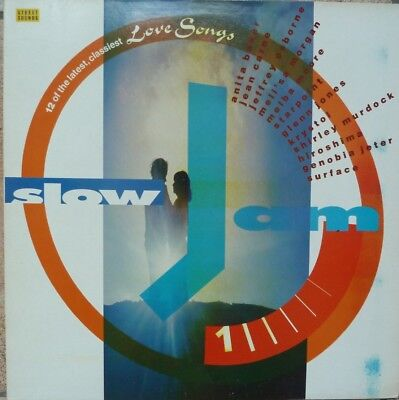 "Slow Jams -1 - 12"" Vinyl Lp - Street Sounds"