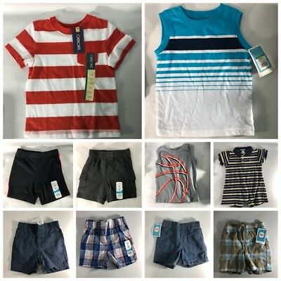 Boys Toddler Size 18 Month  Lot of 10 New Used Summer Shorts Short sleeves Tank