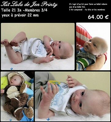 Lulu reborn doll kit