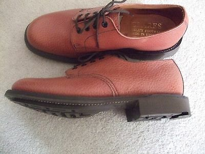 size uk 8 plain  toe leather goodyear welted darby shoes