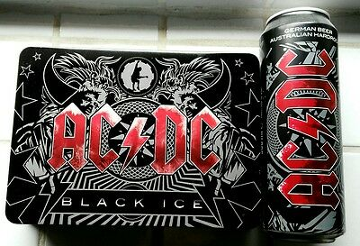 AC/DC - BLACK ICE - CD & DVD BOX  SPECIAL-EDITION Incl. BIERDOSE (leer)