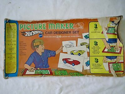 Hot Wheels Picture Maker in the Box! Mattel 1969.