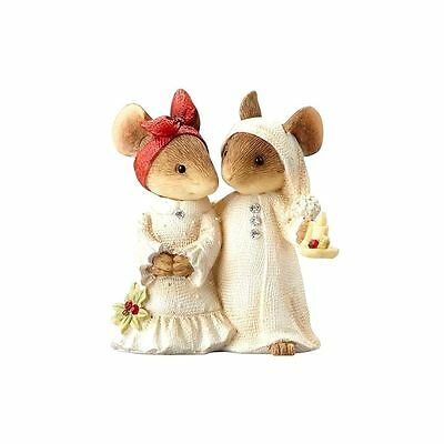 Mice Couple with Candle The Heart of Christmas 4057651 Figurine