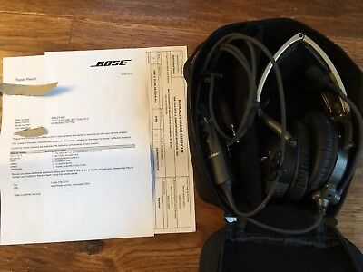 Bose Aviation X Active Noise Cancelling Headset AHX 32 01 like A-20, Tested By