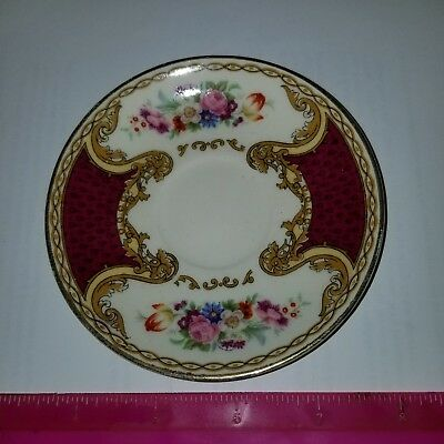 Myott Royal Crown Staffordshire England plate for teacup Vintage 1 dish only