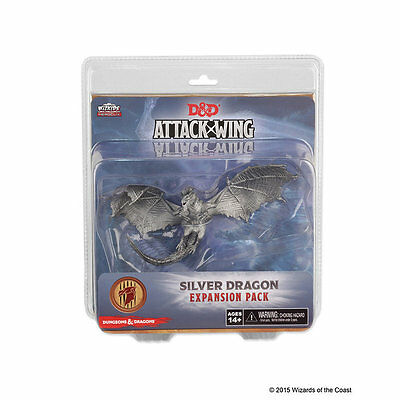 Silver Dragon - Dungeons & Dragons Attack Wing -