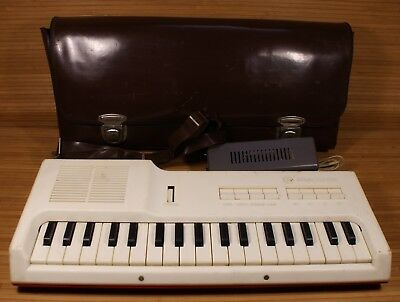 VINTAGE FAEMI KEYBOARDS PIANO SYNTHESIZER vs. POWER SUPPLY 1980's USSR