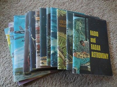 Vintage Science Service book LOT of 12 1960's Good condition..