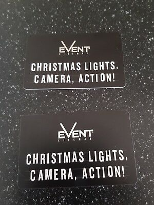2 event cinemas vouchers  $50 each ($100 total) selling for $80