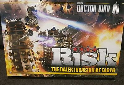 Doctor Who- Risk the Dalek invasion of Earth