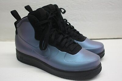 2e105d0eab09 NIKE AIR FORCE 1 Foamposite CUP Light Carbon AH6771-002 Size 10 ...