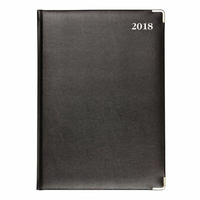 Diary Collins Management A4 Day To Page  Bonded Leather - 2018