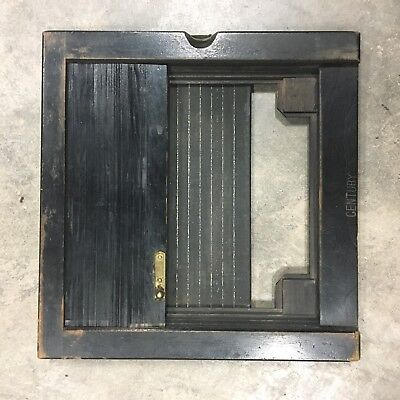 Century Camera Plate Holder Wet Plate Collodion