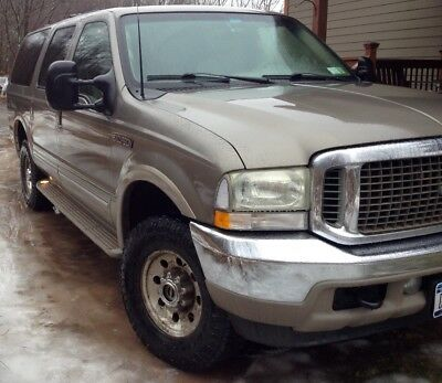 2002 Ford Excursion Limited 2002 Ford Excursion 7.3 Diesel limited