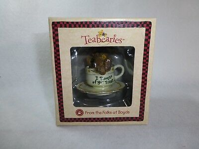 Boyds Bears Teabearies Whimiscal Gifts Thinking of You