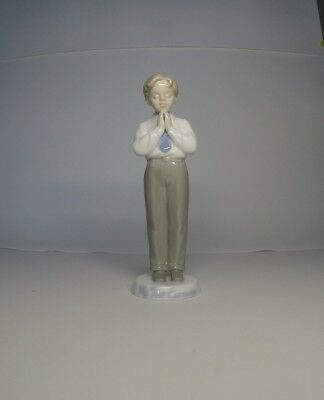 Praying Communion Boy The Valencia Collection Collectible Decorative Figurine