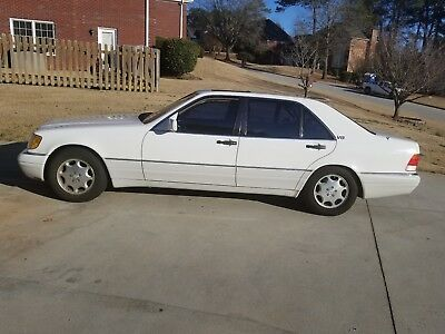 1995 Mercedes-Benz S-Class S420 ''BLOWN ENGINE I WILL SELL THE WHOLE CAR, OR DISMANTLE FOR PARTS''