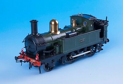 O Gauge GWR Metro Class 2-4-0 Locomotive 7mm Fine Scale