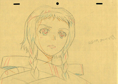 SALE! Anime Genga Not Cel: Queen's Blade #348 (Set of 1 Production Sketch)