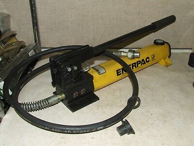 Enerpac P-392 Hydraulic Hand Pump Two Speed Single Acting 10,000Psi