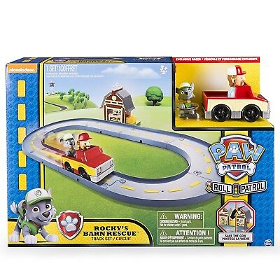 Paw Patrol Rocky's Barn Rescue Track Set. Free Delivery