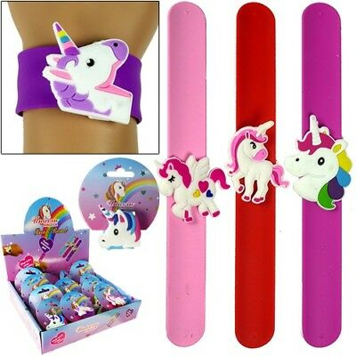 Unicorn Slap Bracelets Bulk Lot (Pack of 48)