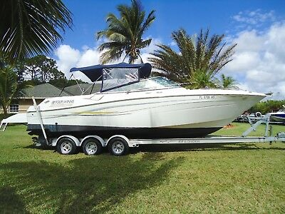2005 FOUR WINNS 280 Horizon Twin Volvo Penta V8 5.0L Great Condition LOW RESERVE