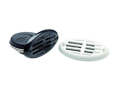 Electric 12V Drop-In Hidden Water-Resistant Horn w/2 Grills for Boats - Five Oce