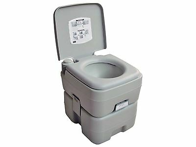 5 Gallon Camping Portable Toilet for Outdoors, Caravans, RVs - Five Oceans (BC 3
