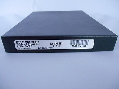 PEARL PAPER 8x10 Multi Dot Pearl variable contrast 100 sheets