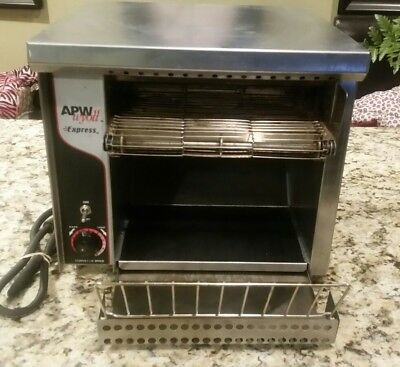 """APW Wyott AT Express Conveyor Toaster with 1 1/2"""" Opening (ATEXPRESS) - 120V"""