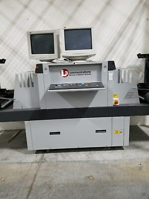 L3 Linescan 215 Security X-Ray Baggage Cargo Parcel Inspection Scanner