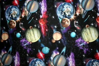 Cotton Fabric  - Out Of This World