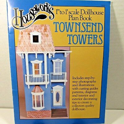 Houseworks Dollhouse Plan Book 1/12 Scale Doll House Detailed Plans  Garth Close