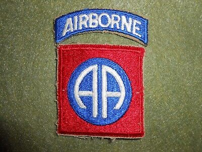 WW2 82nd Airborne Division Patch