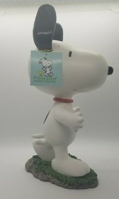"""Peanuts Snoopy GSI Home Styles Garden Collection Statue 10"""" NWT"""