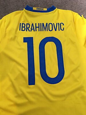 Sweden Ibrahimovic 2016 Home Jersey *NEW*