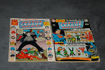 Justice League Of America 76 & 92  Affordable Lot Of 2 Readers Copies