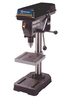 "King Canada Tools KC-108N 8"" DRILL PRESS Perceuse à Colonne 8"" 1/2"" DRILL CHUCK"