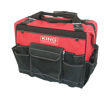 """King Canada Tools KC-18RTB 18"""" ROLLING TOOL BAG Sac à outils couple 18"""" roulette"""