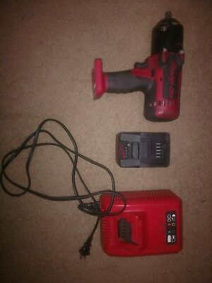 "SNAP-ON CT8850 1/2"" Impact Wrench 18V Cordless Lithium w/ battery charger"