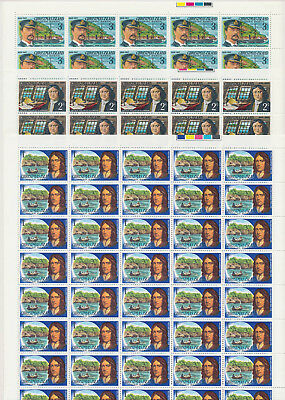 Christmas Is 1976 Visitors full Set 1c-$2 full SHEETS of 50. FV $272 (800 stamps