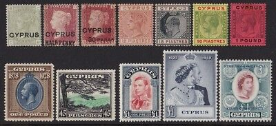 CYPRUS Collection 1880 - 1987 Mint+MNH */** +Turkish Post. SG cat £4450++