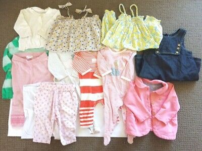 Baby girl clothes bundle (0-12 months) - Country Road, Seed, Purebaby, Bebe...